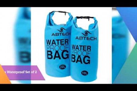 LIGHTWEIGHT WATERPROOF DRY BAGS - ABTECH Infographic
