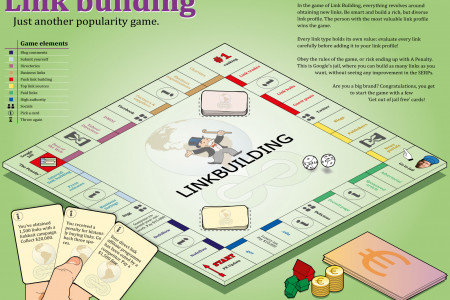 Link Building Just Another Popularity Game Infographic