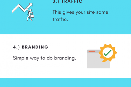 List Of Advantages Of Blog Commenting Infographic