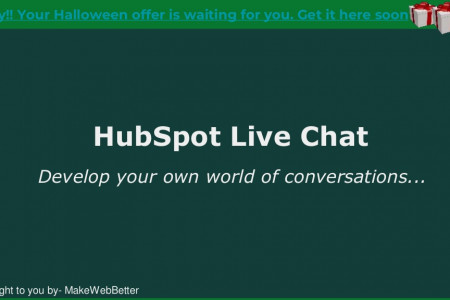 Live Chats: Powered By HubSpot Infographic
