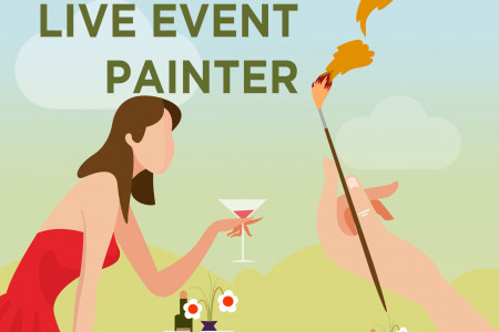 Live event painter Infographic