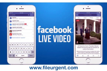 Live Face Caster Free Download-Live Streaming on Facebook Infographic