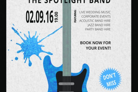 Live Wedding Music from the Spotlight Band Infographic