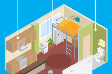 Living Large in Small Spaces Infographic