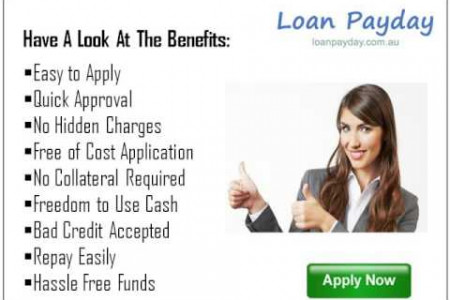 Loan Payday- Obtain Good Amount of Money with Ease Infographic