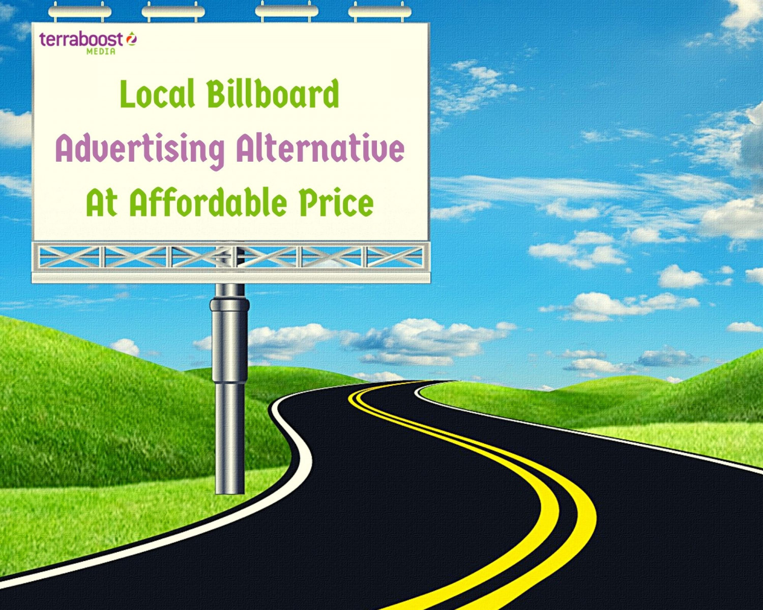 Local Billboard Advertising Alternative At Affordable Price Infographic