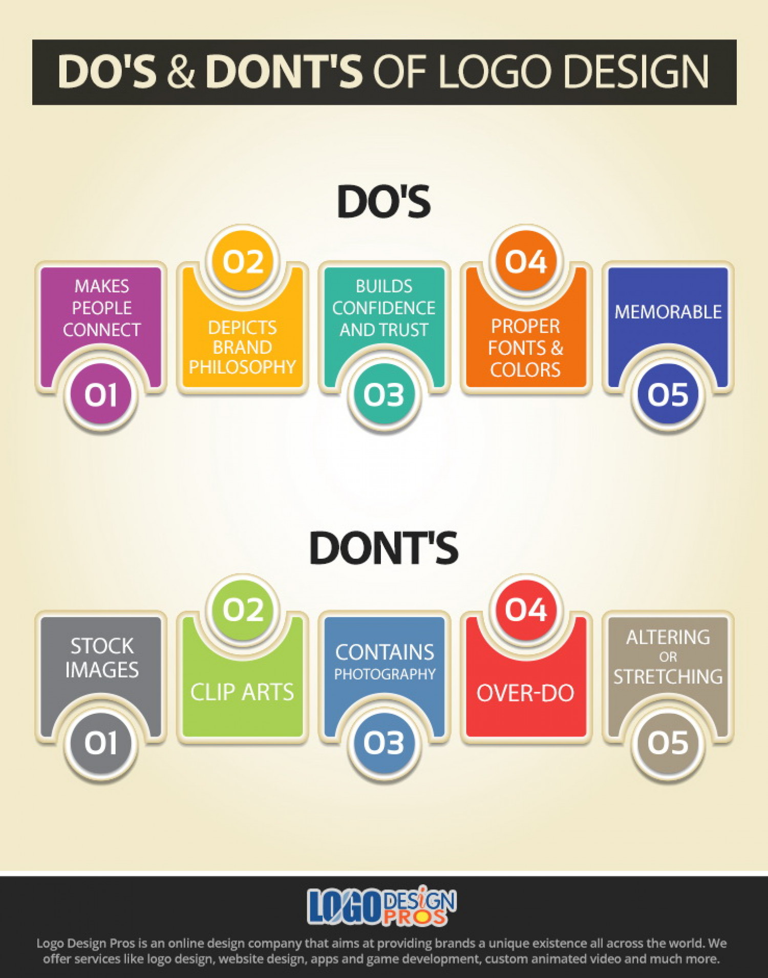 graphic design dos and donts