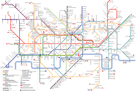 London Tube Infographic