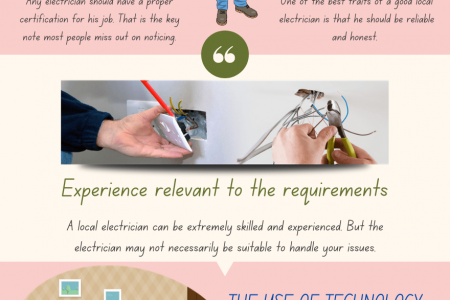 Look for These Traits to Pick Out a Quality Local Electrician Infographic