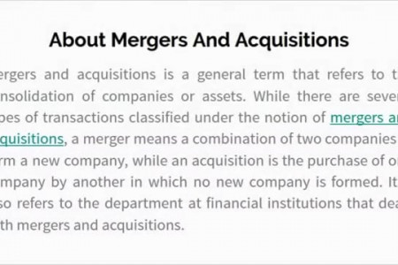 Looking For Mergers And Acquisitions Services in USA Infographic