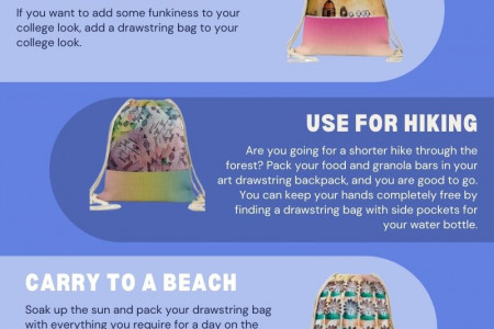 Looking For Personalized Art Drawstring Backpack Infographic