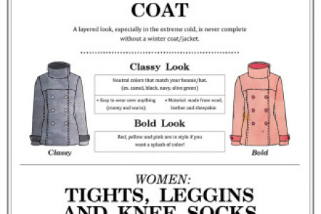 Looking Lovely in the Winter Infographic