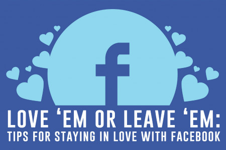 Love 'Em or Leave 'Em: Tips for Staying in Love with Facebook Infographic