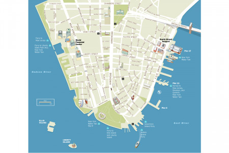 Lower Manhattan Infographic