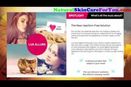 Lux Allure Ageless Moisturizer Review - Watch This Video Before You Buy Infographic