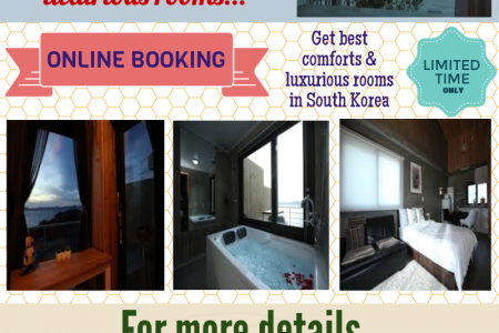 Luxury Accomodation In South Korea Infographic