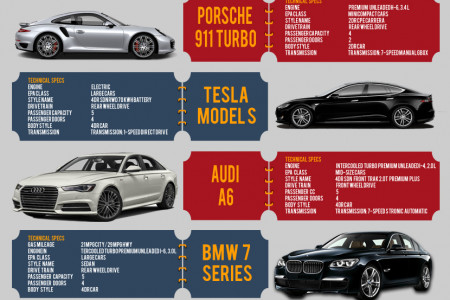 Luxury Cars at Voitureluxe.fr Infographic