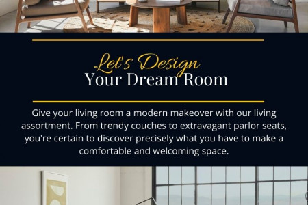 Luxury Living Room Furniture  Infographic