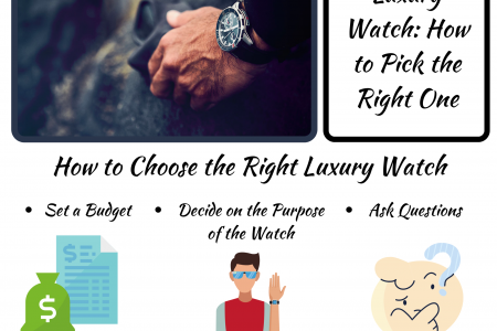 Luxury Watch: How to Pick the Right One Infographic