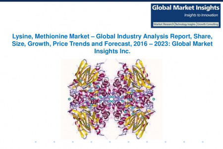 Lysine, Methionine Market – Global Industry Analysis Report, Share, Size, Growth, Price Trends and Forecast, 2016 – 2023 Infographic