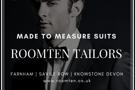 Made To Measure Suits London | Bespoke Suits | Roomten UK Infographic
