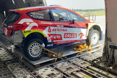 Magma Aviation transports cars from Liege to Nairobi for WRC Safari Rally Kenya Infographic