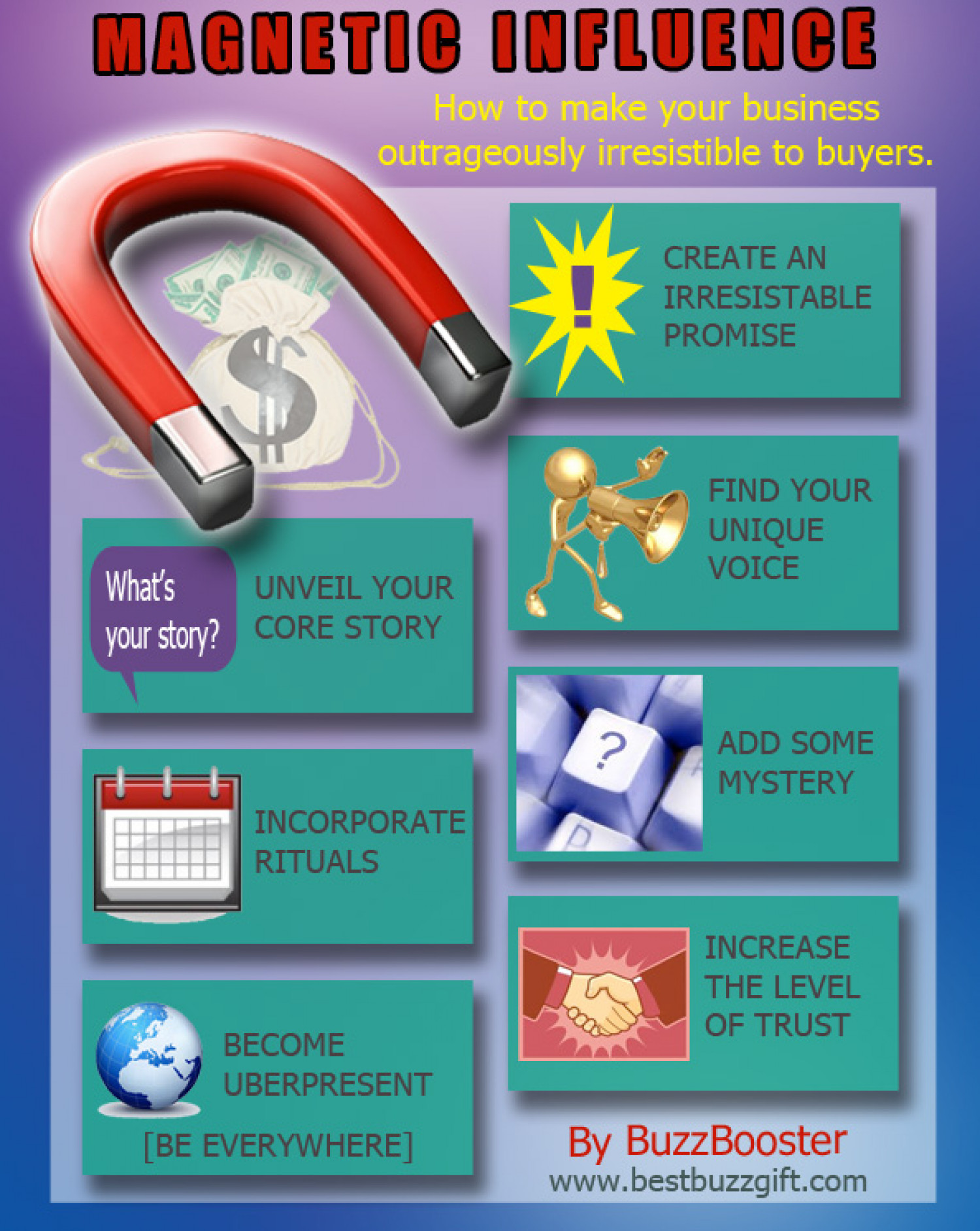 Magnetic Influence System Infographic