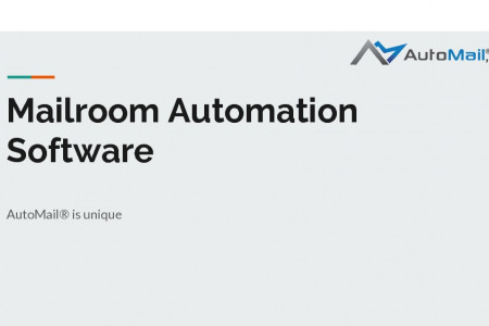 Mailroom Automation Software - Automail Infographic