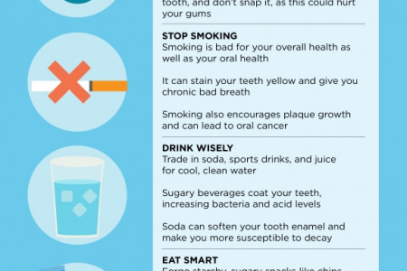 Maintaining a Healthy Smile Between Dental Visits  Infographic