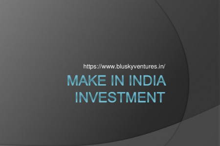 Make In India Investment Infographic