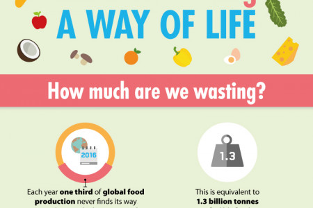 Make #NotWasting a way of life Infographic