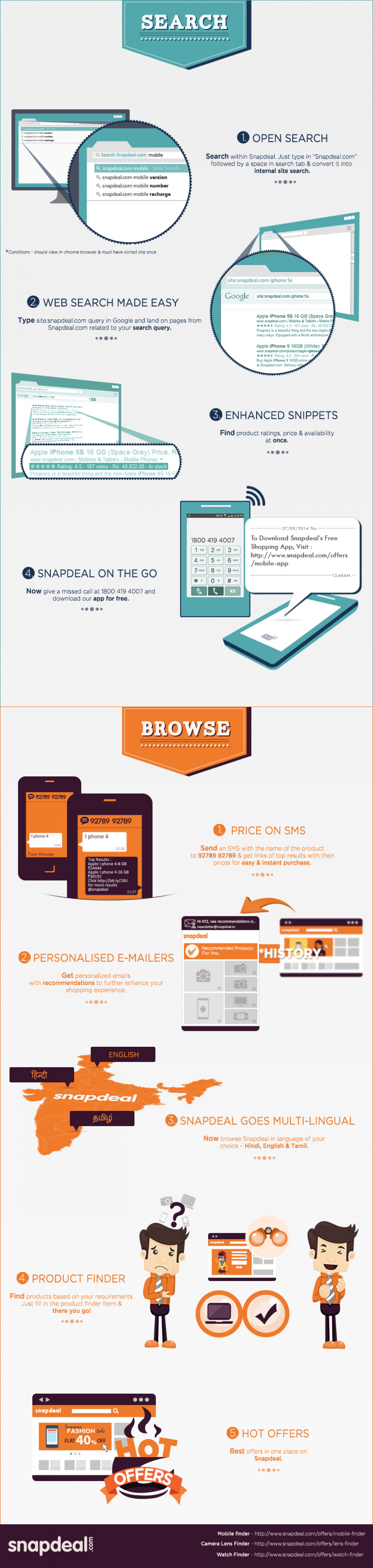 Make Snapdeal Experience Even Better!  Infographic