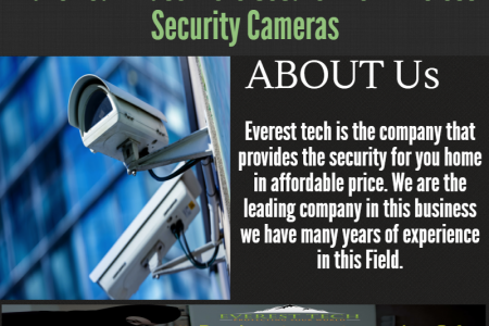 Make Your Place more Secure with Wireless Security Cameras Infographic