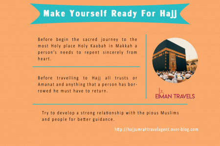 Make Yourself Ready For Hajj Infographic