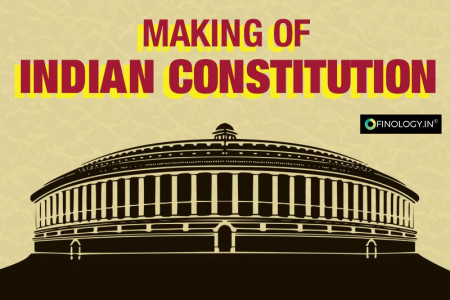 Making of the Indian Constitution Infographic