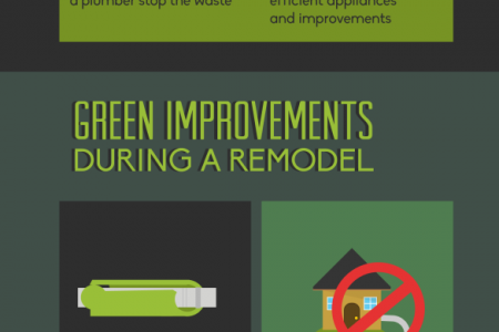 Making Your Home a Greener Place Infographic