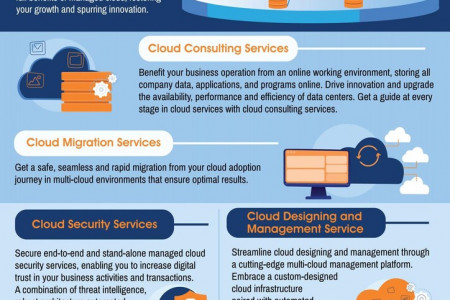 Managed Cloud Services Infographic