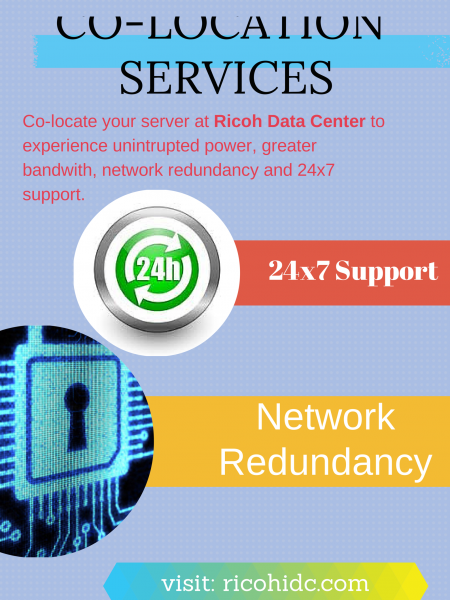 Managed Colocation Services Infographic
