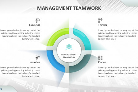 Management Teamwork Template   Free Download Infographic