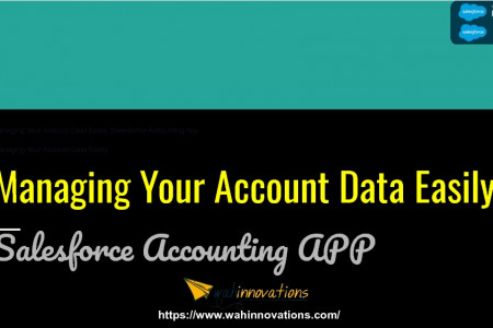 Managing Your Account Data Easily |Salesforce Accounting App| Accounting App for Salesforce Infographic