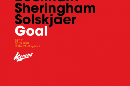 Manchester United Goal! Infographic