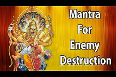 Mantra For Enemy Destruction - Mantra To Protect Family From Enemies Infographic