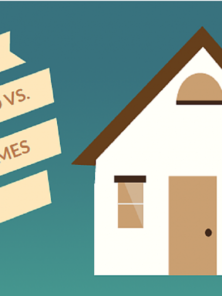 Manufactured vs. Site-Built Homes Infographic