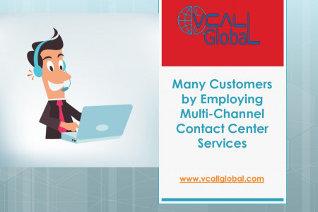 Many-Customers-by-Employing-Multi-Channel-Contact-Center-Services Infographic