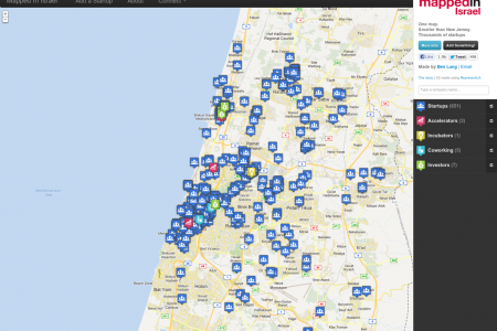 MappedIn Israel  Infographic