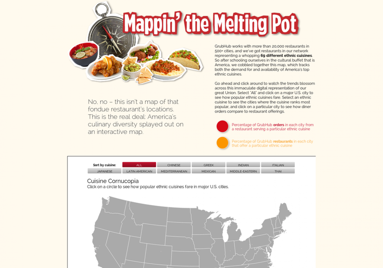 Mappin' the Melting Pot Infographic