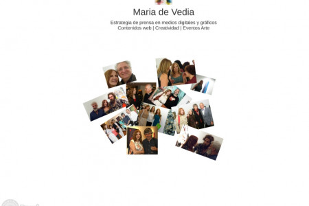 Maria de Vedia Marketing Cultural Infographic