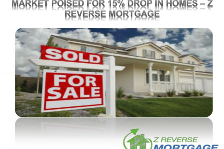 Market Poised for 15% Drop in Homes - Z Reverse Mortgage Infographic