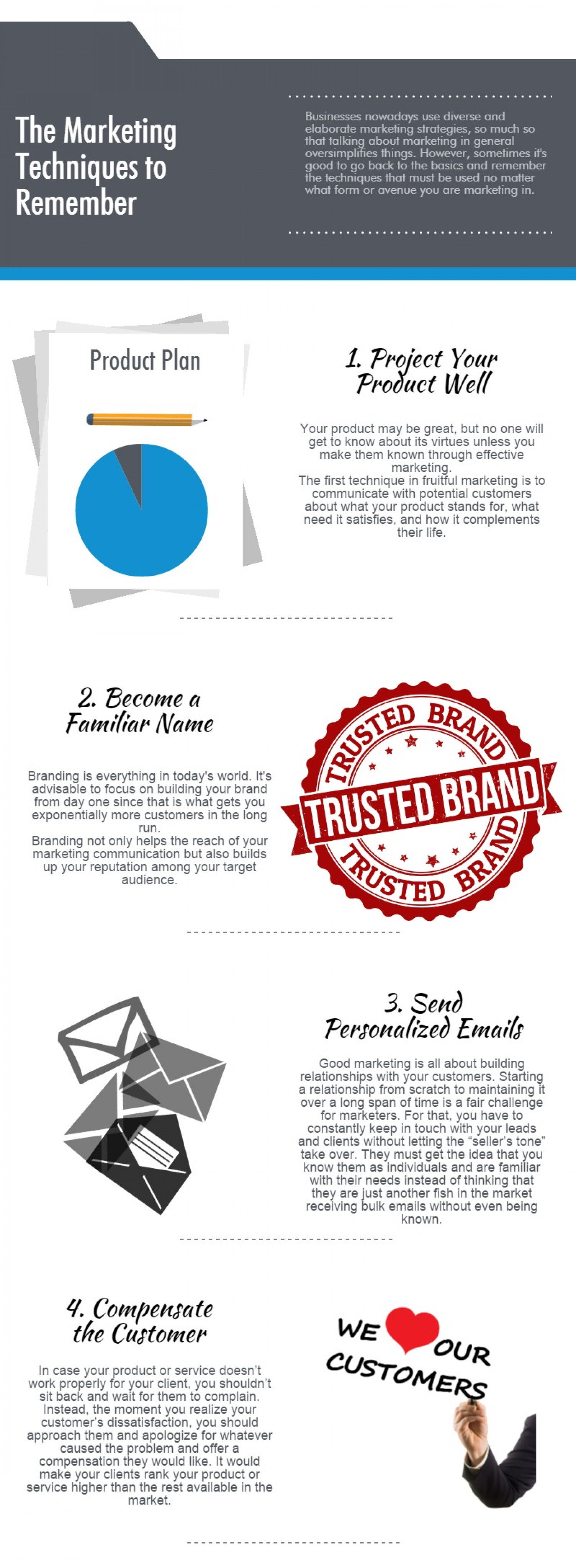Marketing Techniques That Give You Goosebumps Infographic