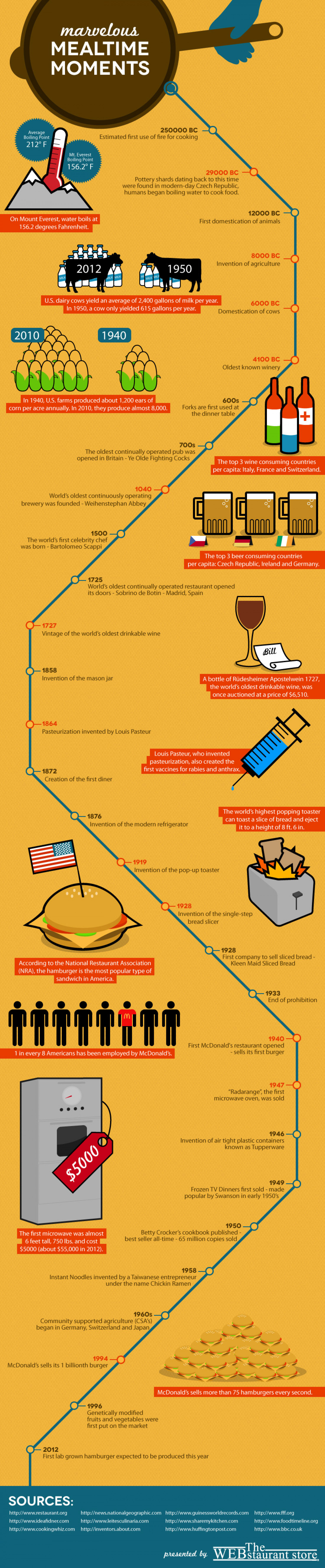 Marvelous Mealtime Moments Infographic